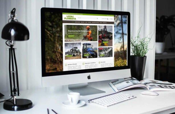 Novo site da Loja da Floresta